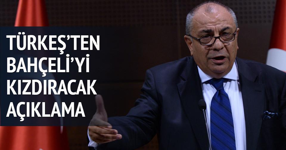 Tuğrul Türkeş'ten Bahçeli'yi kızdıracak açıklama
