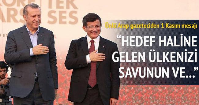 Arap gazeteciden Türk halkına 'seçim' mesajı