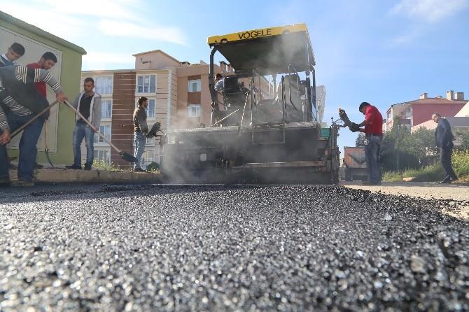 Kırklareli'de 8 Bin Tonluk Sıcak Asfalt Çalışması Başladı