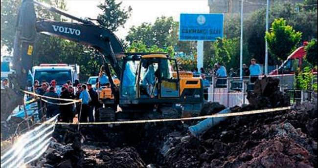 Kanalizasyon göçtü: 1 ölü