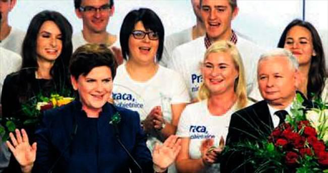 Polonya'da seçimin galibi AB şüphecileri