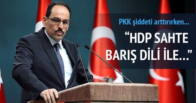 İbrahim Kalın gün be gün PKK - HDP'nin yaptıklarını anlattı!