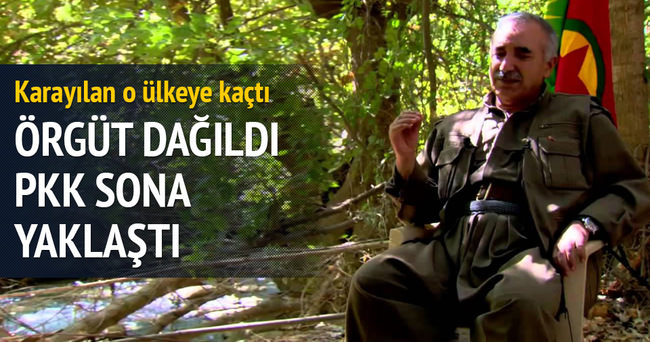 Örgüt dağılıyor PKK sona yaklaştı