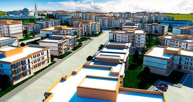 Gaziantep'te 50 bin konutluk dev proje