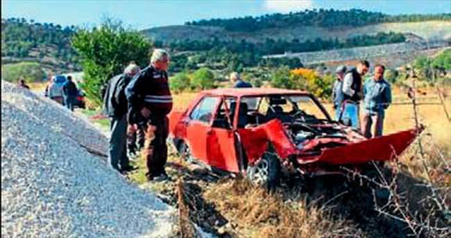 Pide ustası trafik kazası kurbanı