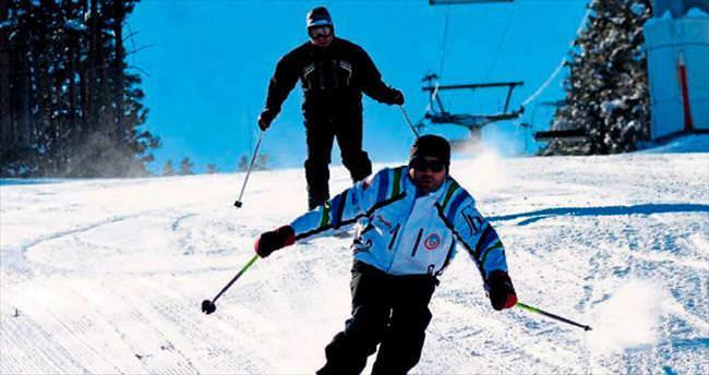 Göktepe'ye kayak merkezi