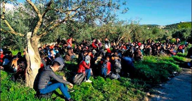 Çanakkale'de bin sığınmacı yakalandı