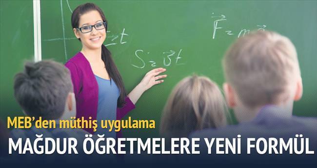 Mağdur öğretmene kurs formülü
