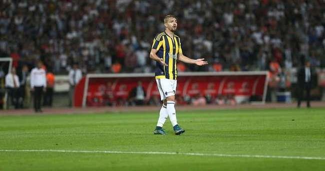 Fenerbahçe'de Caner Erkin şoku