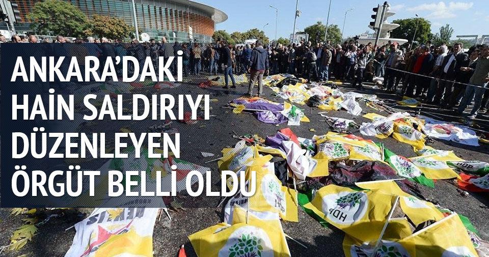 Ankara'daki hain saldırıyı düzenleyen örgüt belli oldu