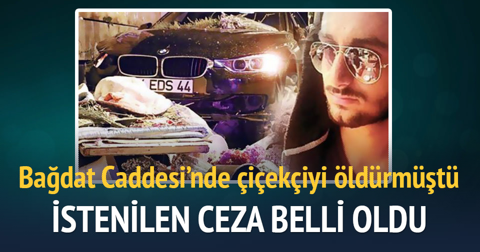 Kadıköy'de çiçekçiye çarpan sürücüye istenen ceza belli oldu