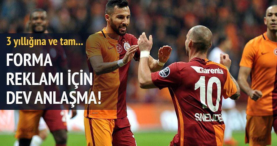 Galatasaray'dan reklam anlaşması