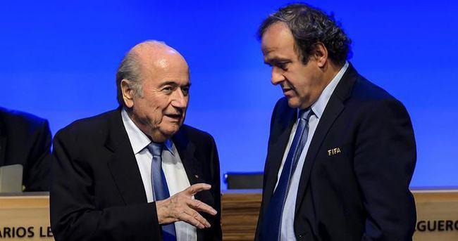Blatter'den Platini'ye ağır suçlama