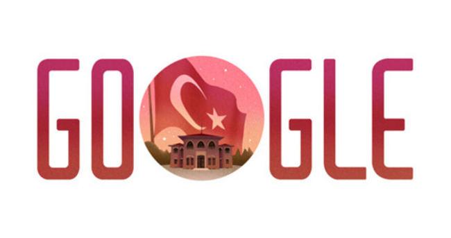 Cumhuriyet Bayramı için Google doodle hazırladı