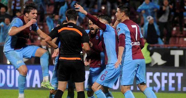 Trabzonspor - Gaziantepspor maçında kural hatası iddiası
