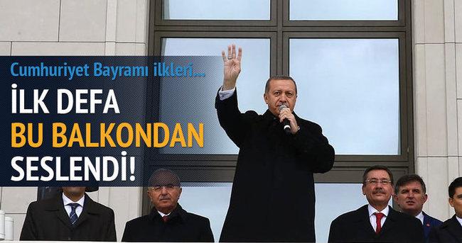 Cumhurbaşkanı Erdoğan Külliye'den halka seslendi!