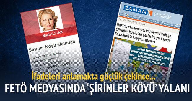 FETÖ medyasında 'Şirinler Köyü' yalanı