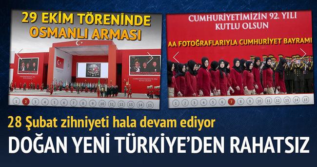 Doğan Yeni Türkiye'den rahatsız