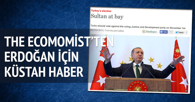 İngiliz The Economist'ten küstah haber