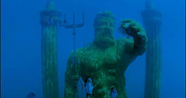 Açılış kurdelesi su altında kesilecek
