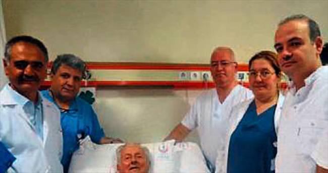 Robotik cerrahi sayesinde 2. hayatına 'merhaba' dedi