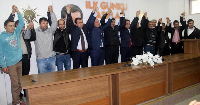 Seçime 2 gün kala AK Parti'ye büyük katılım