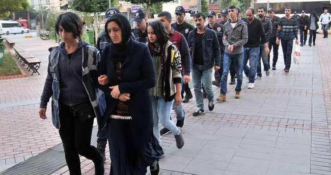Mersin'de PKK'ya operasyon!