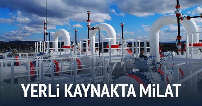 Gaz ithalatına yerli kaynak freni