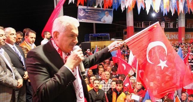 Muhalefet çalışmadı sadece AK Parti'ye saldırdı!