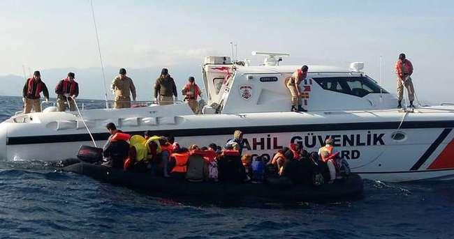 Sahil Güvenlik 71 bin göçmeni boğulmaktan kurtardı!
