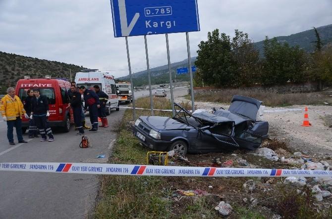 Çorum'da Trafik Kazası: 2 Ölü