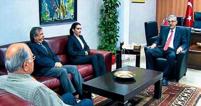 Haskasap projelerini Başbakan'a anlattı