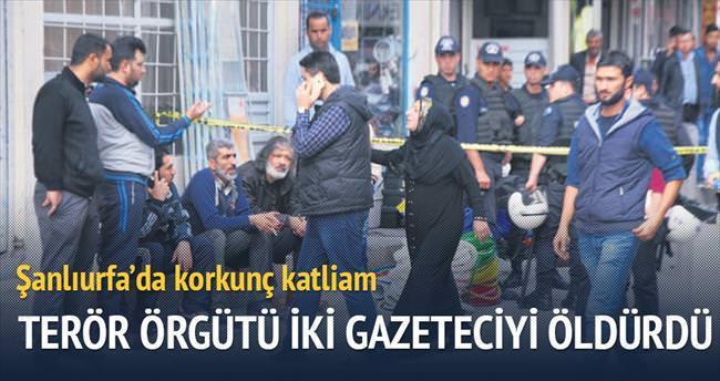 DAEŞ, Şanlıurfa'da iki gazeteciyi katletti