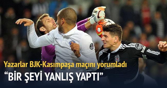 Yazarlar Beşiktaş-Kasımpaşa maçını yorumladı