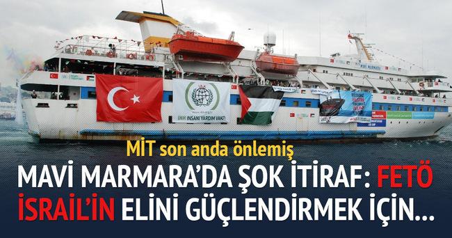 Mavi Marmara planı MİT'e takılmış