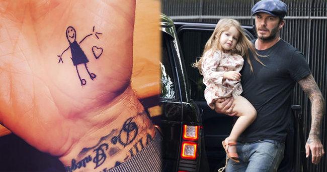 David Beckham'ın duygulandıran dövmesi