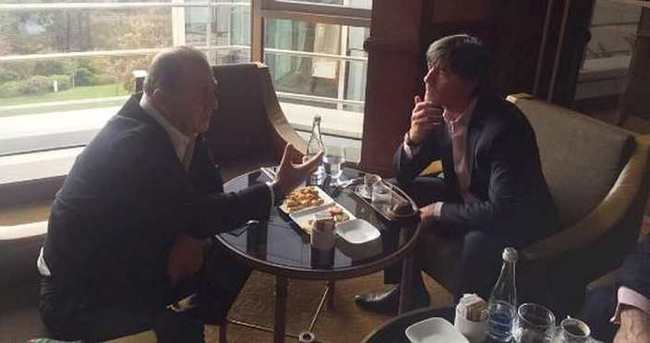 Löw ile Fatih Terim İstanbul'da bir araya geldi