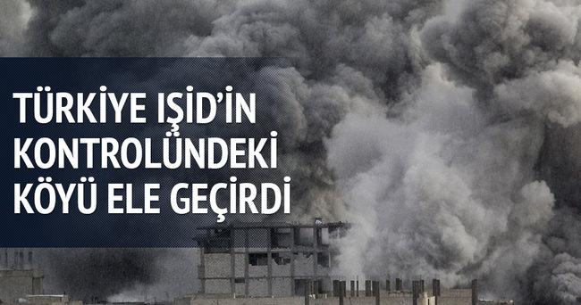 Türkiye IŞİD'in kontrolündeki köyü ele geçirdi
