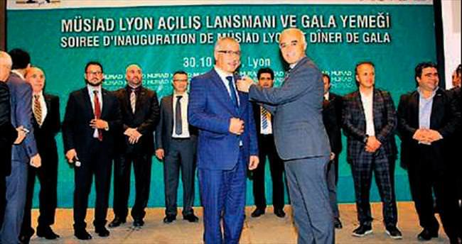 MÜSİAD, Paris'in ardından Lyon'da temsilcilik açtı