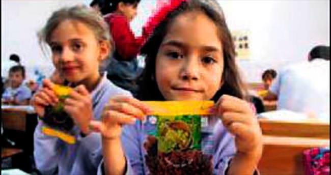 30 bin okulda, 6 milyon öğrenciye kuru üzüm