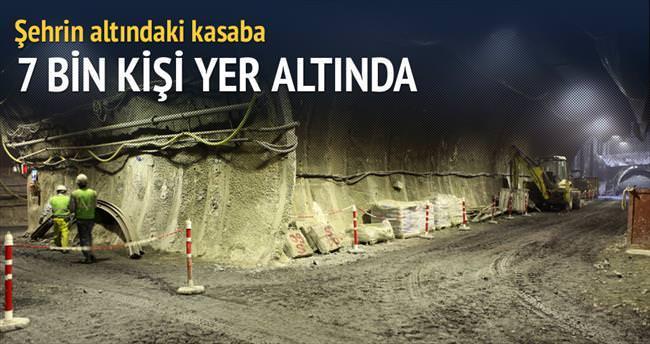 İstanbul'un altında bir kasaba
