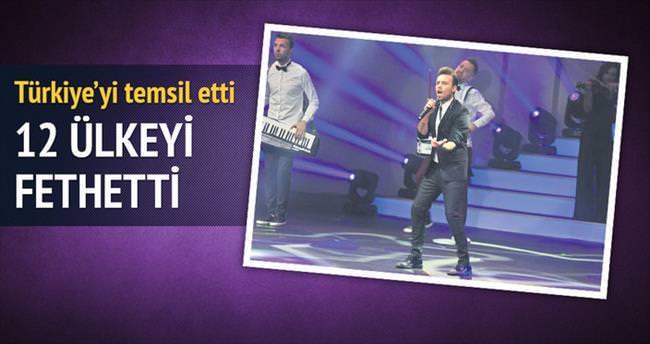 Murat Dalkılıç 12 ülkeyi fethetti