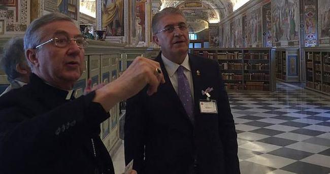 Vatikan'ın Osmanlı arşivi Türkiye'ye geliyor