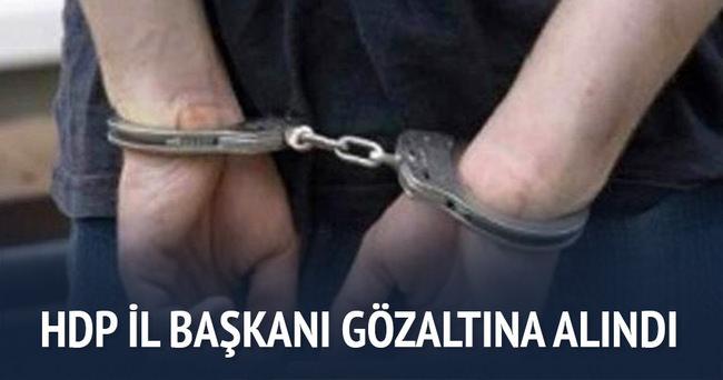 HDP Kırklareli İl Başkanı gözaltına alındı
