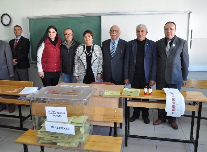Milli Eğitim Bakanı Avcı, Aday Olduğu Eskişehir'de Oyunu Kullandı