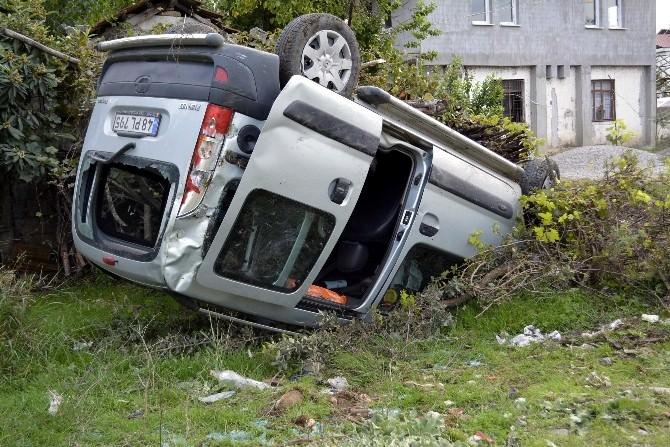 Seydikemer Trafik Kazası: 1 Yaralı