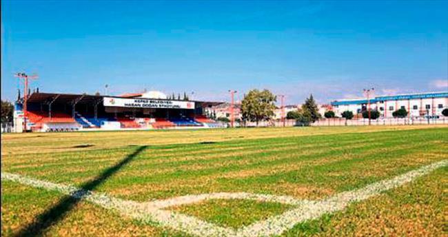 Hasan Doğan Stadyumu yenilendi