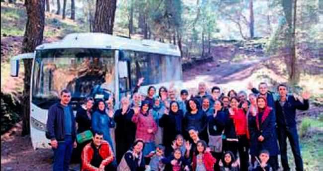Menderes'te doğa yürüyüşleri başladı