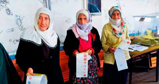 Erdoğan'ın evini yaptırdığı üçüzler de oy attı