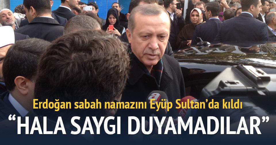 Cumhurbaşkanı Erdoğan'dan 1 Kasım açıklaması